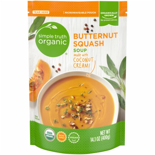Simple Truth Organic™ Butternut Squash Soup Perspective: front