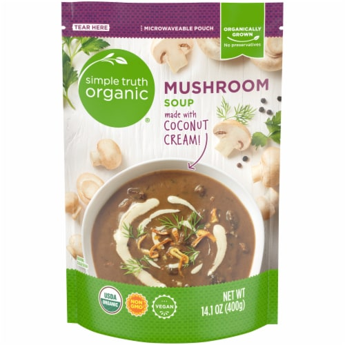 Simple Truth Organic™ Mushroom Soup Perspective: front