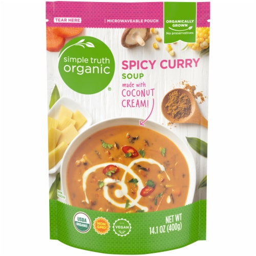 Simple Truth Organic™ Spiced Curry Soup Perspective: front