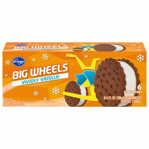 Kroger® Big Wheels Vividly Vanilla Perspective: front