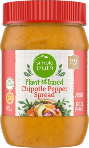 Simple Truth™ Plant Based Chipotle Pepper Spread Perspective: front