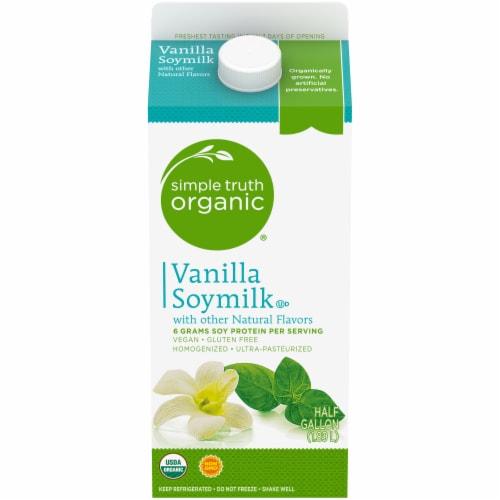 Simple Truth Organic® Vanilla Soymilk Perspective: front