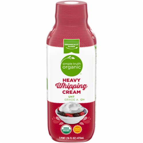 Simple Truth Organic™ Heavy Whipping Cream Perspective: front