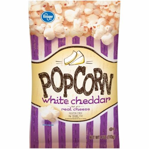 Kroger® White Cheddar Popcorn Bag Perspective: front