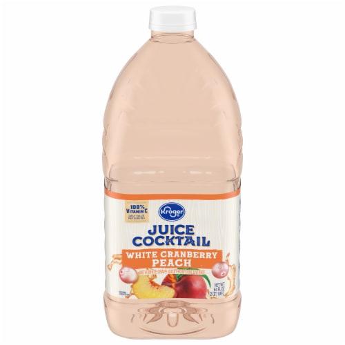 Kroger® White Cranberry Peach Juice Cocktail Perspective: front