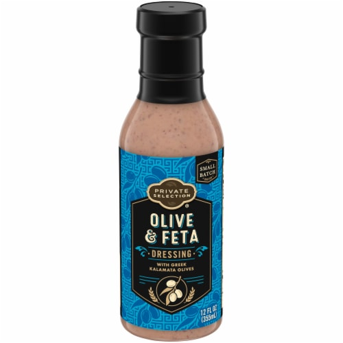 Private Selection® Olive and Feta Salad Dressing Perspective: front
