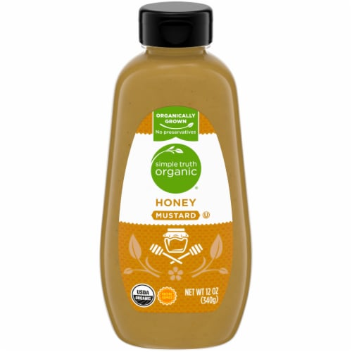 Simple Truth Organic® Honey Mustard Perspective: front