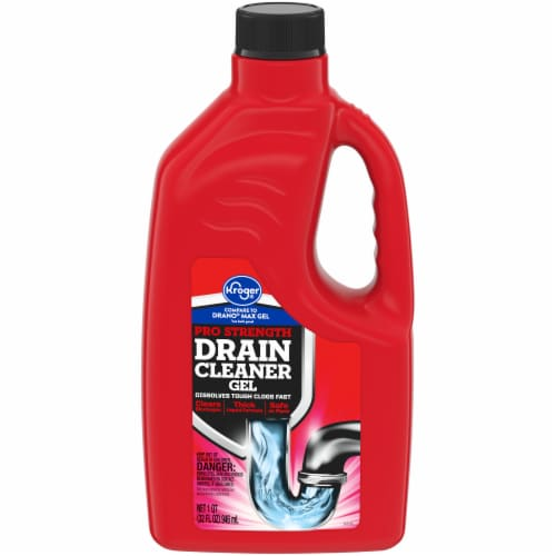 Kroger® Pro Strength Drain Cleaner Gel (12 Pack) Perspective: front