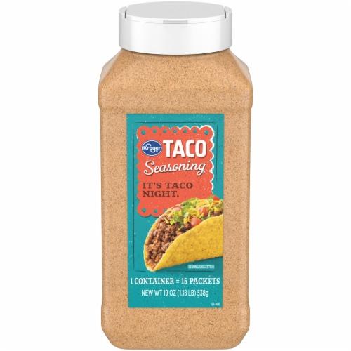 Kroger® Taco Seasoning Perspective: front