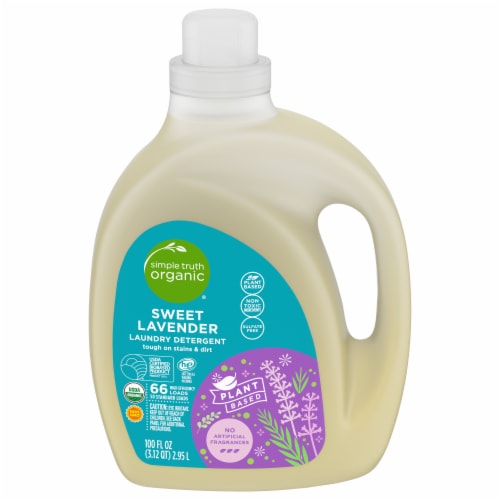 Simple Truth Organic™ Sweet Lavender Laundry Detergent Perspective: front