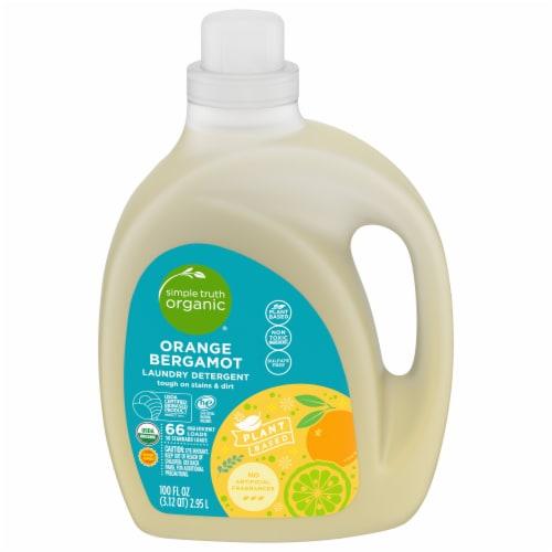 Simple Truth Organic™ Orange Bergamot Laundry Detergent Perspective: front