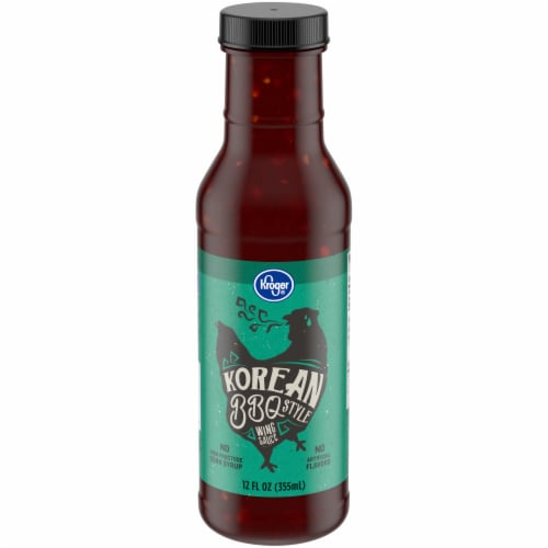 Kroger® Korean BBQ Style Wing Sauce Perspective: front
