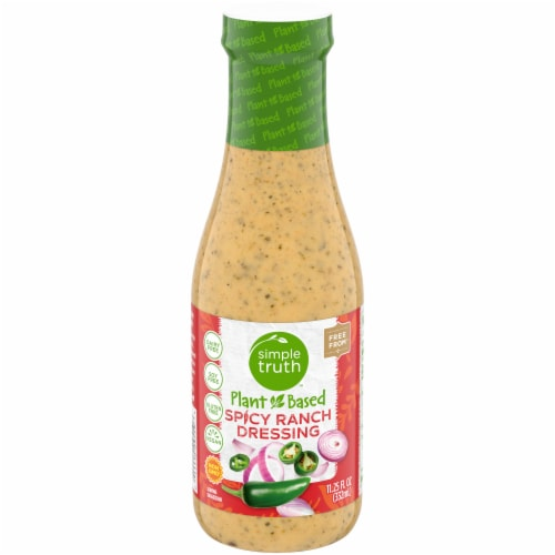 Simple Truth™ Plant Based Spicy Ranch Dressing Perspective: front