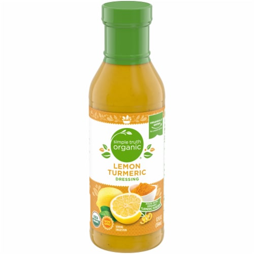 Simple Truth Organic® Lemon Turmeric Dressing Perspective: front