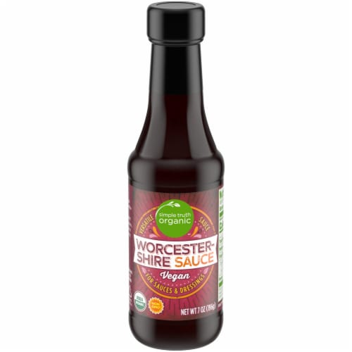 Simple Truth Organic™ Vegan Worcestershire Sauce Perspective: front