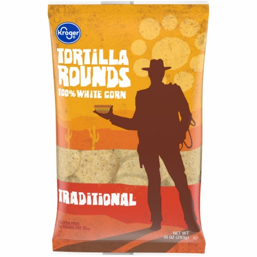 Kroger® Traditional Tortilla Chips Perspective: front