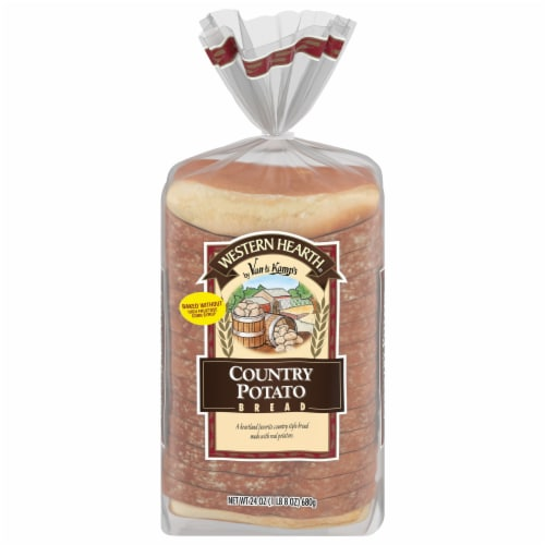 Western Hearth® Country Potato Bread Perspective: front