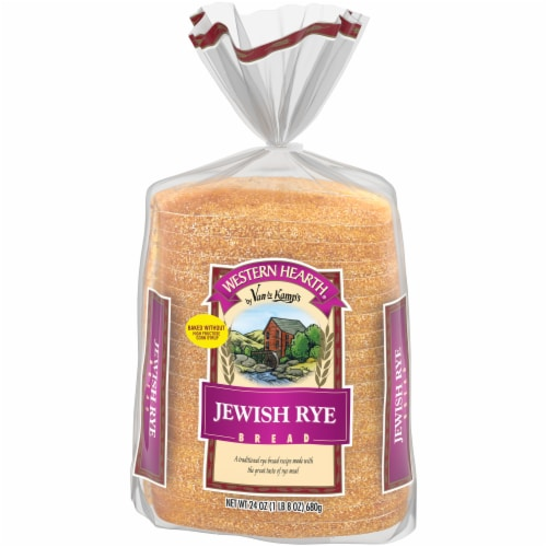 Western Hearth® Jewish Rye Bread Perspective: front