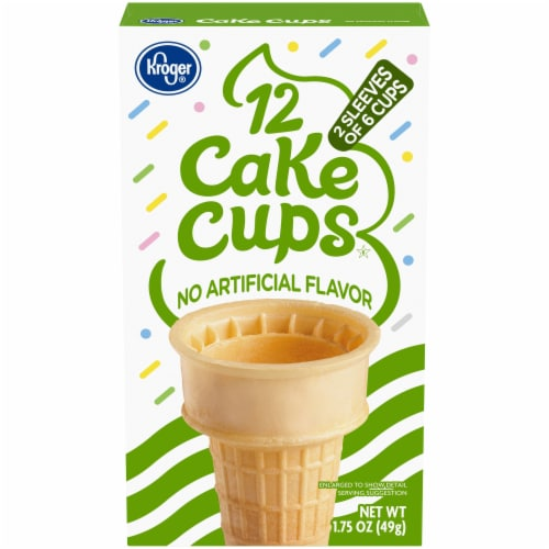 Kroger® Cake Cups Perspective: front