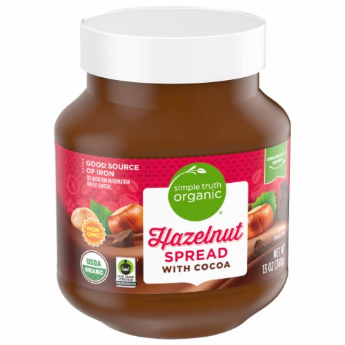 Simple Truth Organic® Hazelnut Spread with Cocoa Perspective: front