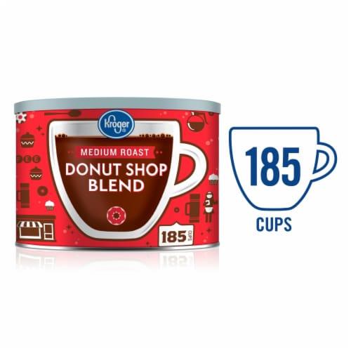 Kroger® Donut Shop Medium Roast Ground Coffee Perspective: front