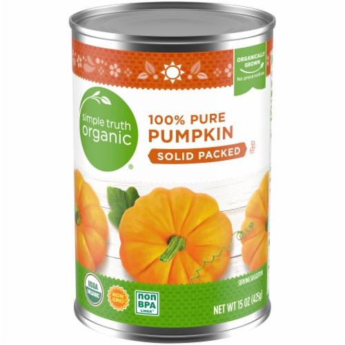 Simple Truth Organic® 100% Pure Solid Packed Pumpkin Perspective: front