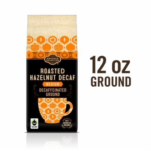 Private Selection® Fair Trade Roasted Hazelnut Decaffeinated Medium Roast Ground Coffee Perspective: front