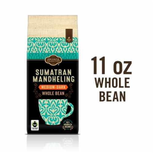 Private Selection® Fair Trade Sumatran Mandheling Medium-Dark Roast Whole Bean Coffee Perspective: front