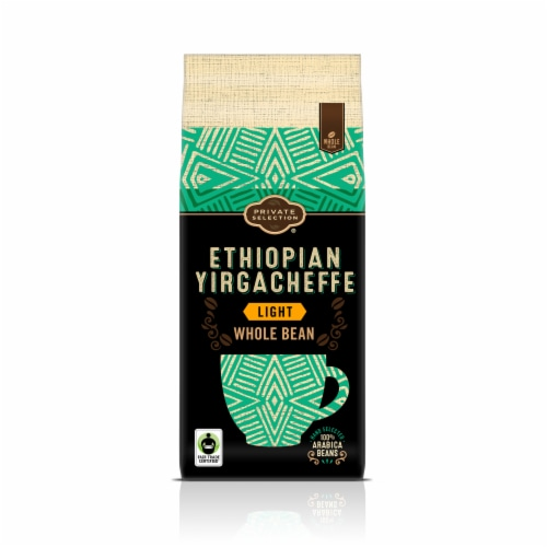 Private Selection® Fair Trade Ethiopian Yirgacheffe Light Roast Whole Bean Coffee Perspective: front