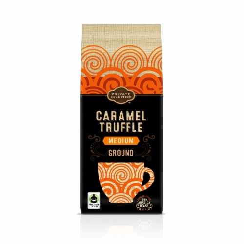 Private Selection® Caramel Truffle Ground Coffee Perspective: front