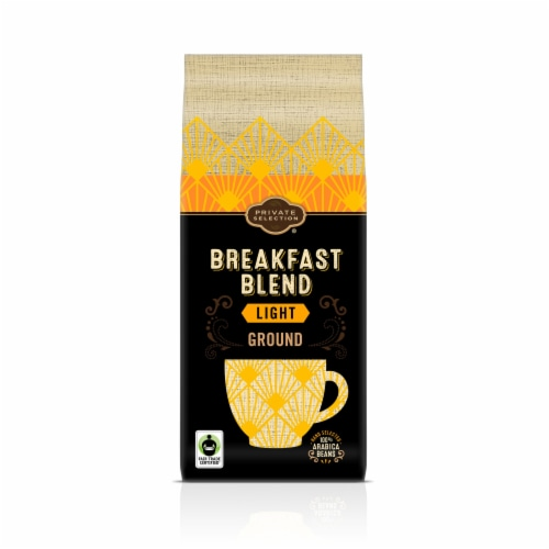 Private Selection® Fair Trade Breakfast Blend Light Roast Ground Coffee Perspective: front