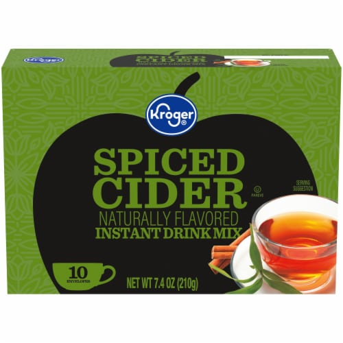 Kroger® Naturally Flavored Spiced Cider Instant Drink Mix Perspective: front