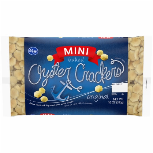 Kroger Mini Oyster Crackers Perspective: front