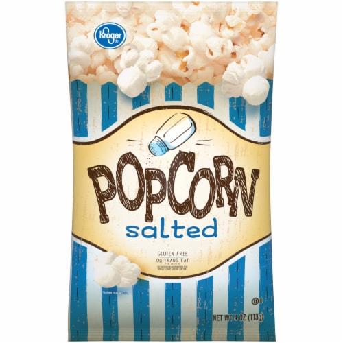 Kroger® Salted Popcorn Perspective: front