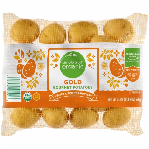 Simple Truth Organic™ Gold Gourmet Potatoes Perspective: front