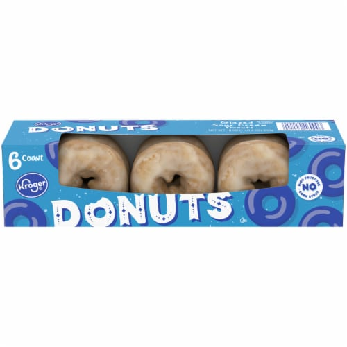 Kroger® Sour Cream Glazed Donuts Perspective: front