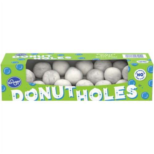 Kroger® Powdered Donut Holes Perspective: front