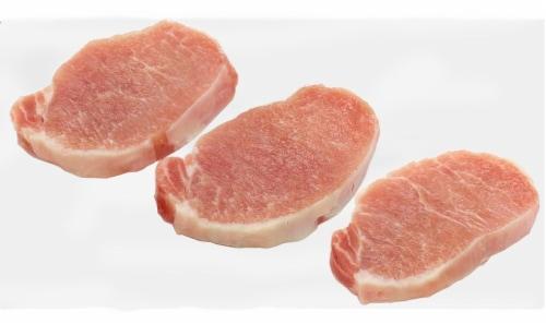 Kroger® Pork Boneless Loin Chops (6 Chops per Pack) Perspective: front
