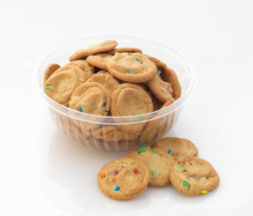 Bakery Fresh Goodness Mini M&M Cookies Perspective: front