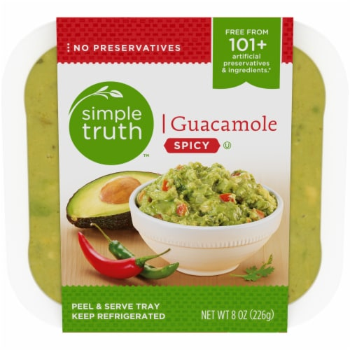Simple Truth™ Spicy Guacamole Perspective: front