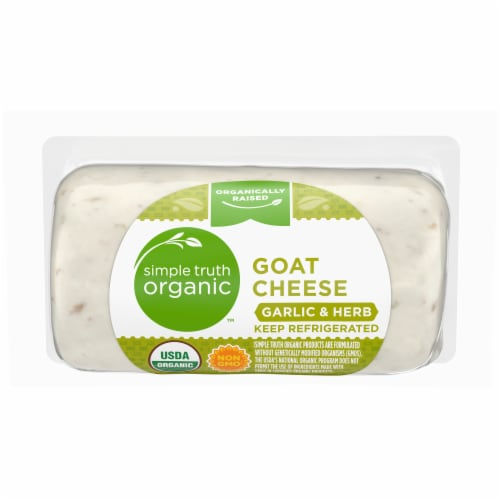 Simple Truth Organic™ Garlic & Herb Goat Cheese Perspective: front