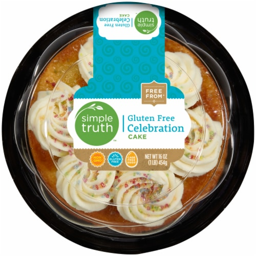 Simple Truth™ Gluten Free Celebration Cake Perspective: front