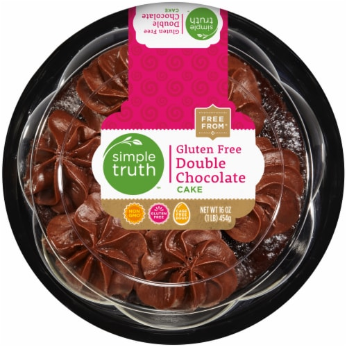 Simple Truth™ Gluten Free Double Chocolate Cake Perspective: front