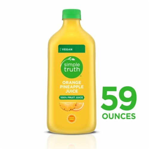 Simple Truth® Orange Pineapple Juice Perspective: front