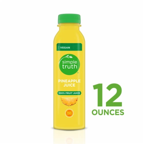 Simple Truth™ 100% Pineapple Juice Cold Pressed Perspective: front