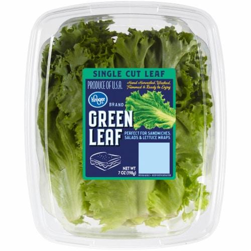 Kroger® Green Leaf Lettuce Perspective: front