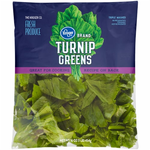 Kroger® Turnip Greens Perspective: front