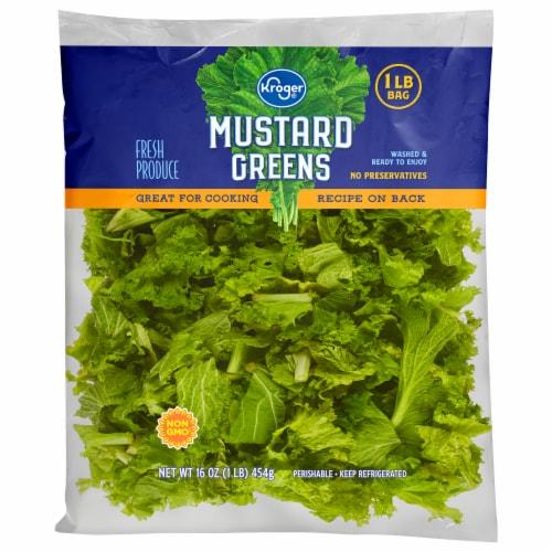 Kroger® Mustard Greens Perspective: front