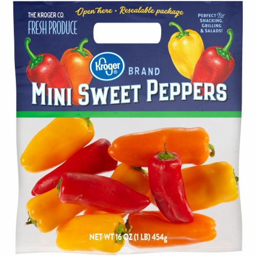 Kroger® Mini Sweet Peppers Perspective: front