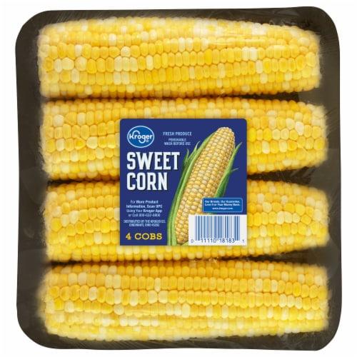 Kroger® Sweet Corn Cobs Perspective: front